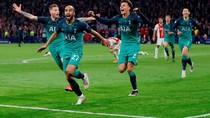 Tottenham Kalahkan Ajax pada Malam Dramatis di Amsterdam