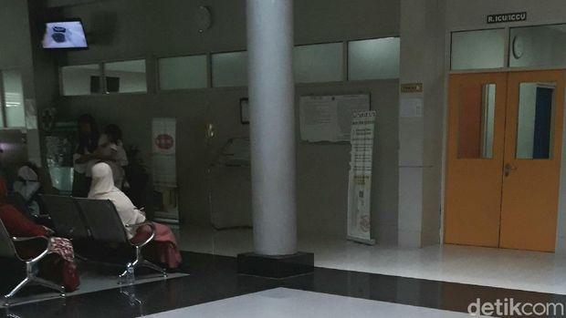 Ruang ICU di RS dr Oen Solo Baru, Sukoharjo.