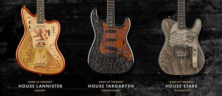 Fender edisi Game of Thrones Foto: Fender