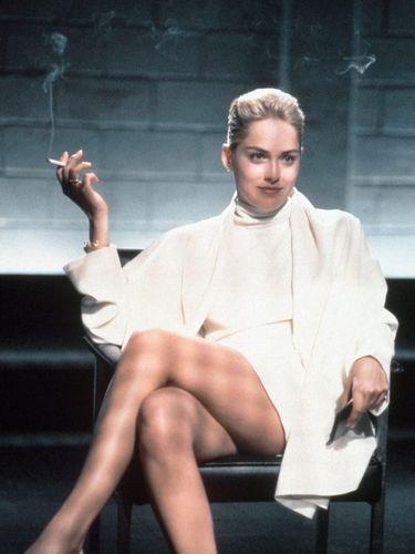 Sharon Stone di Basic Instinct