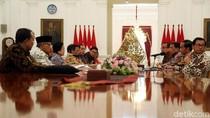 Jokowi Terima Kedatangan Megawati Hingga Mahfud MD di Istana