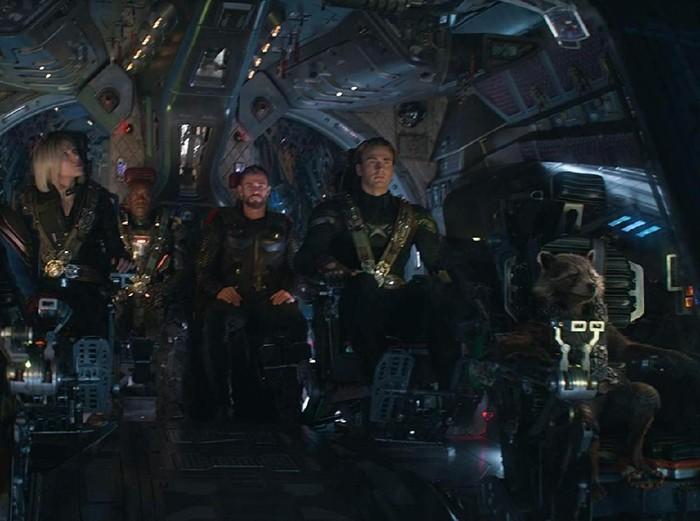 Para superhero Avengers. Foto: (imdb.)