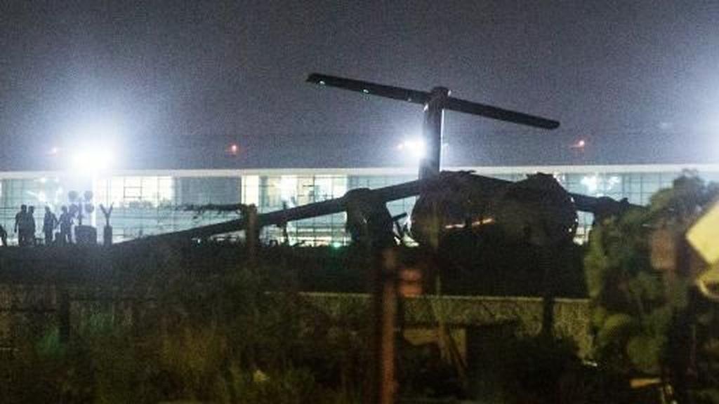 Pesawat Tergelincir di Bandara Yangon Myanmar, 11 Orang Terluka
