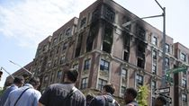 6 Orang Tewas, Begini Penampakan Apartemen New York yang Terbakar
