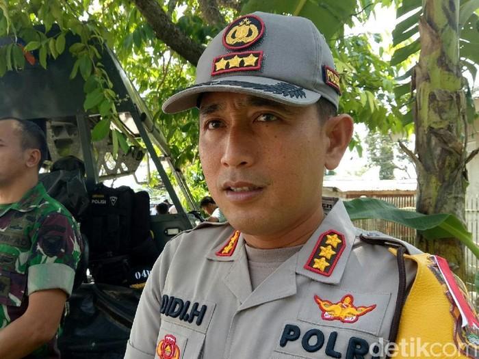Kapolresta Palembang, Kombes Didi Hayamansyah (Raja Adil Siregar/detikcom)