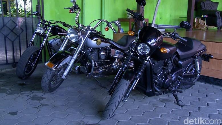 Motor koleksi KH Miftah Maulana Habiburrahman (Iswahyudi/20detik)