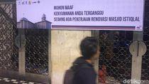 Akhirnya Masjid Istiqlal Renovasi Besar-besaran