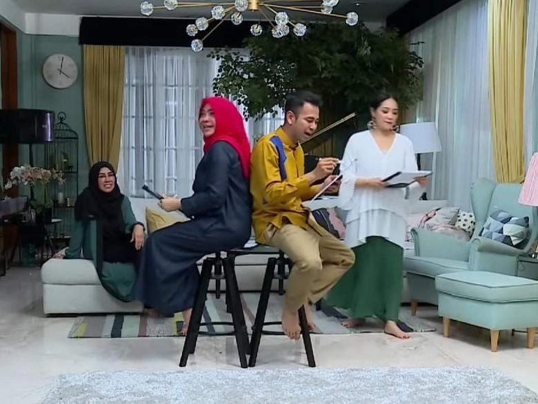 Foto: Raffi Ahmad, Nagita, Mama Rieta dan Mama Amy (YouTube)