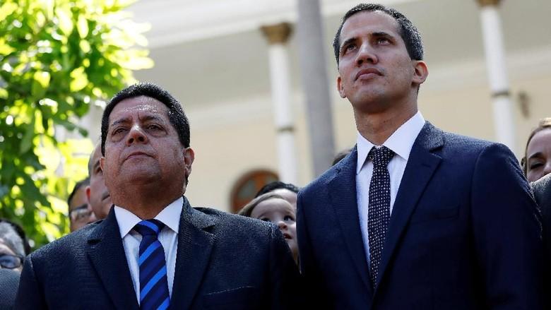Wakil Pemimpin Oposisi Venezuela Ditangkap, AS Lontarkan Ancaman