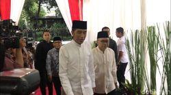 Bukber Jokowi-JK dan Pimpinan MPR, HNW-Ahmad Muzani Tak Hadir