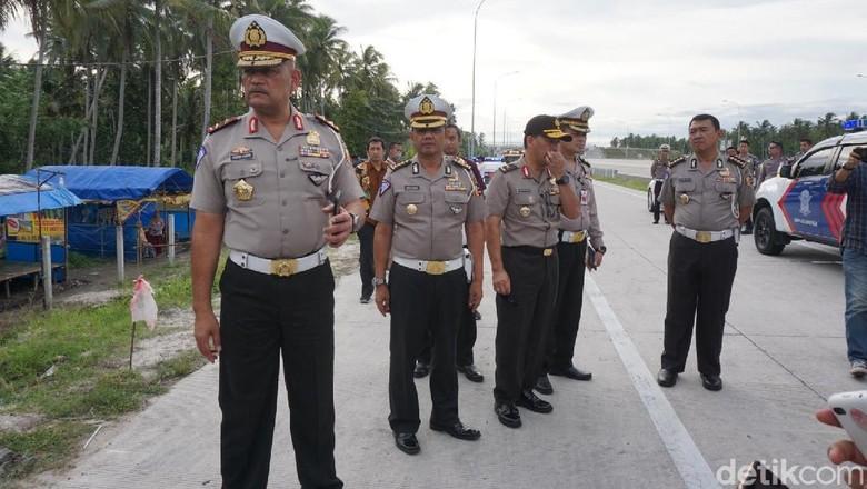 Persiapan Mudik, Kakorlantas Cek Tol Bakauheni Lampung