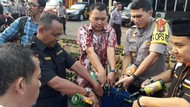 Sambut Ramadhan, Polres Bekasi Musnakan 3.015 Botol Miras