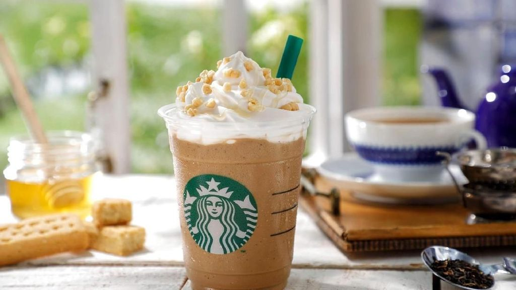 Rayakan Kaisar Baru Jepang, Starbucks Luncurkan Royal Milk Tea Frappuccino