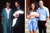 Beda Meghan Markle, Kate Middleton, Putri Diana Saat Pamer Bayi ke Publik