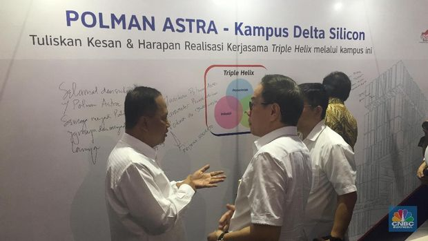 Astra Bikin Kampus Politeknik Manufaktur di Cikarang Rp 600 M