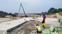 Video Melihat Progres Pembangunan Relokasi GT Cikarang Utama