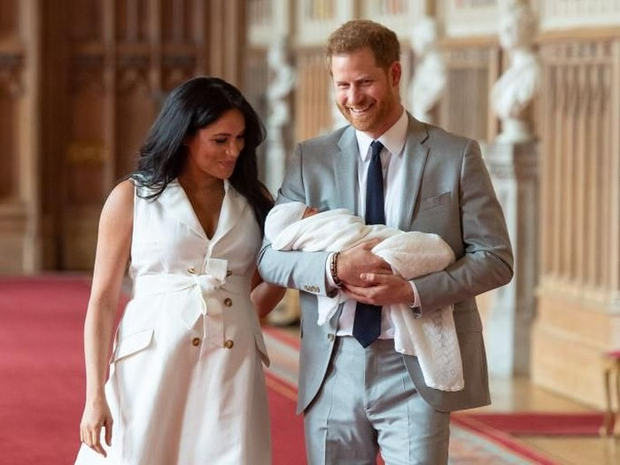 Hari Ibu perdana Meghan Markle sebagai ibu. Foto: Dominic Lipinski - WPA Pool/Getty Images