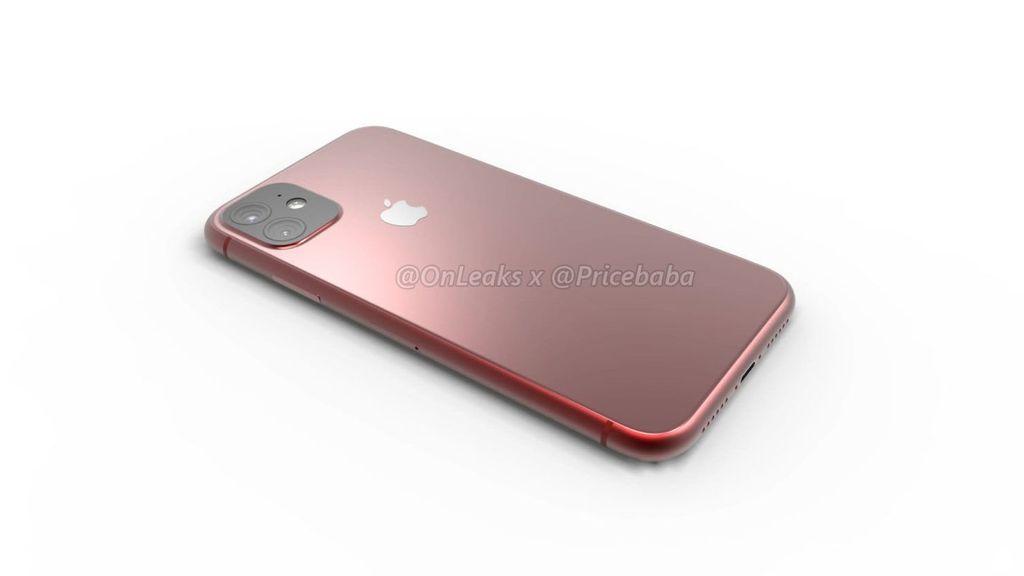 Adalah akun YouTube Price Baba yang membuatnya. Mereka membuat render ponsel yang disebut-sebut bernama iPhone XE itu berdasarkan bocoran yang tersebar di internet. (Foto: @onleaxs x @pricebaba)
