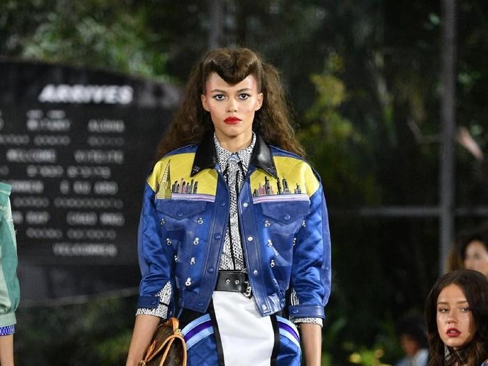 Fashion Show Louis Vuitton di Bandara John F. Kennedy. Dok. Getty Images