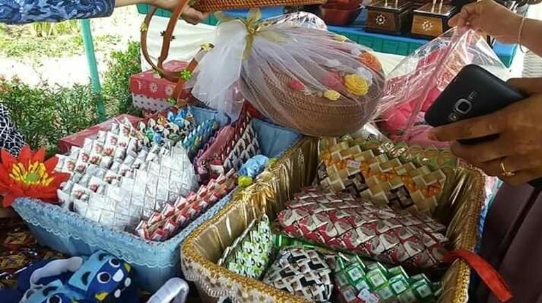 Hasil dari Bank Sampah di Lombok, NTB (Istimewa)