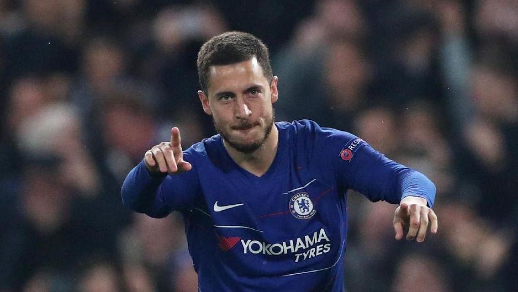 Mourinho: Final Liga Europa Akan Jadi Laga Terakhir Hazard di Chelsea