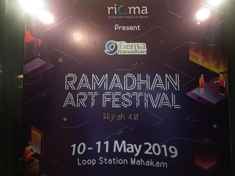 Ramadhan Art Festival Foto: Tia Agnes
