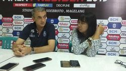 Milomir Seslija Sudah Tahu Kekurangan Arema FC