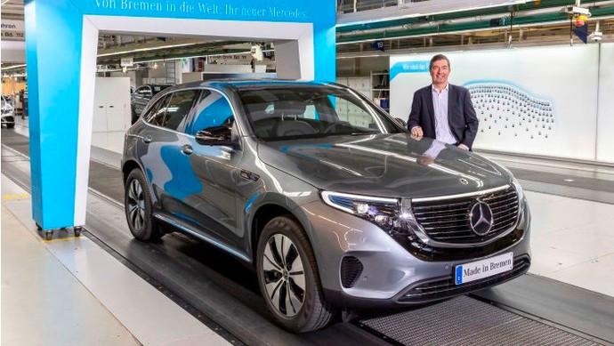 Kecenya Crossover Listrik Mercedes-Benz EQC