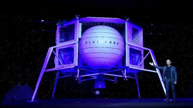 Luncurkan 'Blue Moon', Orang Terkaya di Dunia