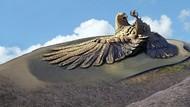 Foto: Jatayu, Patung Burung Terbesar Sedunia