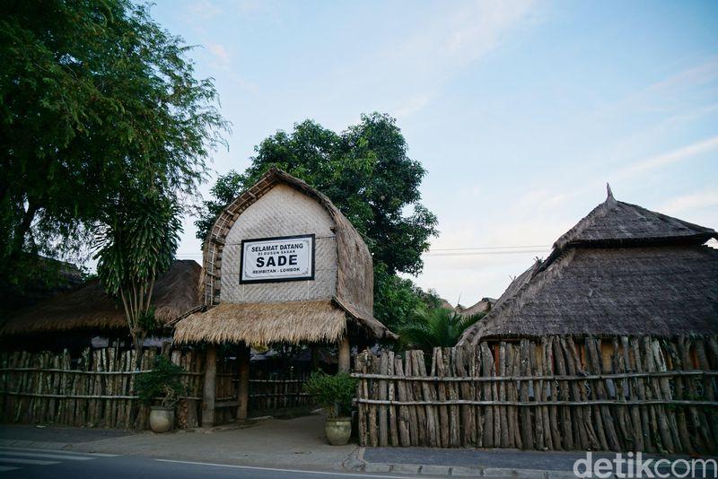 Inilah Desa Sasak Sade, desa tradisional yang berada di wilayah Rembitan, Lombok Tengah. Desa ini hanya berjarak 13 Km atau 25 menit perjalanan dengan mobil dari bandara. (Syanti/detikcom)