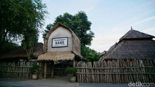 Desa Sasak Sade di Lombok tengah