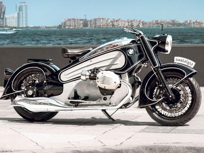Aduh Cantiknya Moge Klasik dari BMW R nineT