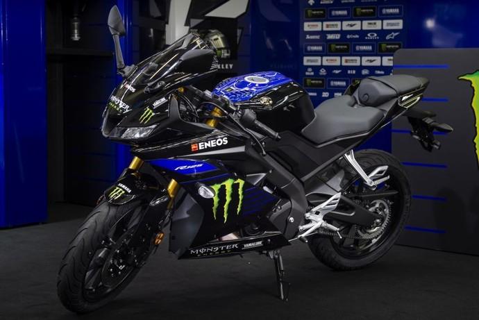 Livery Monster Energy MotoGP ala Rossi di Adik Yamaha R15