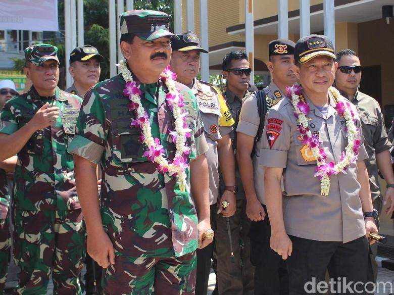 Kapolri dan Panglima TNI Kunjungan Kerja ke Mapolresta Sidoarjo