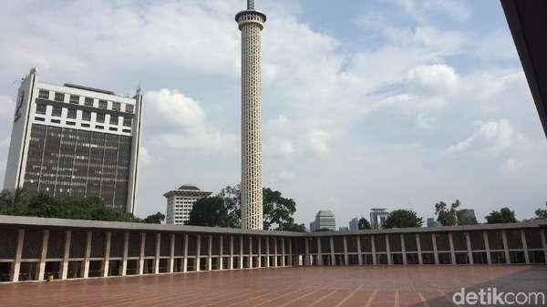 Kontrak Diteken, Renovasi Masjid Istiqlal Siap Dimulai