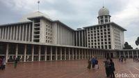 Bakal Ada Skybridge dari Masjid Istiqlal ke Monas