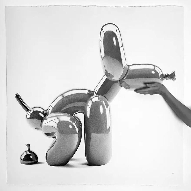 Gambar hyperrealistis ini merupakan karya seniman asal Italia, Alessandro Paglia. (Foto: Alessandro Paglia via Bored Panda)