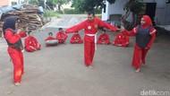Keseruan Pemuda Probolinggo Ngabuburit Sembari Belajar Pencak Silat