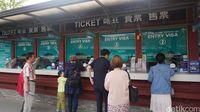 Entry Visa sebelum menuju ke Pulau Nami (Afif Farhan/detikTravel)