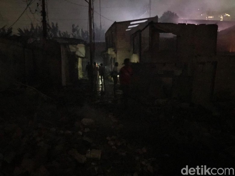 Permukiman 3 RT di Kampung Bandan Terdampak Kebakaran, Api Sudah Padam