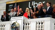 Uber Melantai di Bursa, Para Dedengkot Raup Duit Selangit