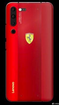 Lenovo Pamer Z6 Pro Edisi Ferrari