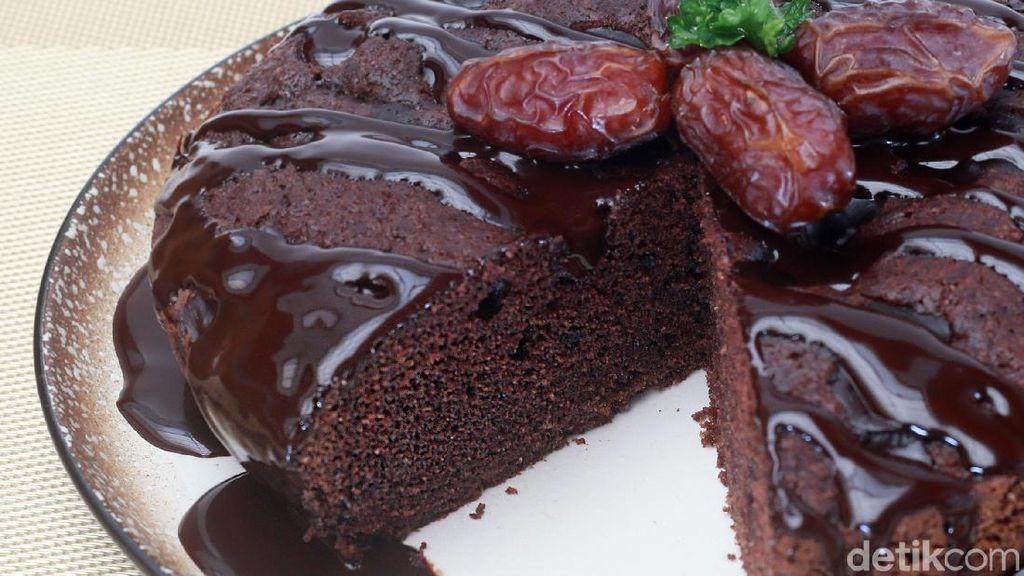 Resep Ramadan: Chewy Double Chocolate Cake