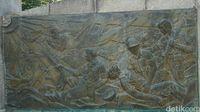 Gambaran peperangan di Gunung Seorak (Afif farhan/detikTravel)