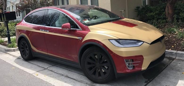 Tesla Iron Man. Foto: Istimewa
