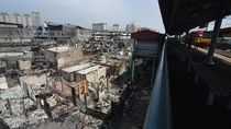 Penampakan Terkini Kampung Bandan Pasca Kebakaran
