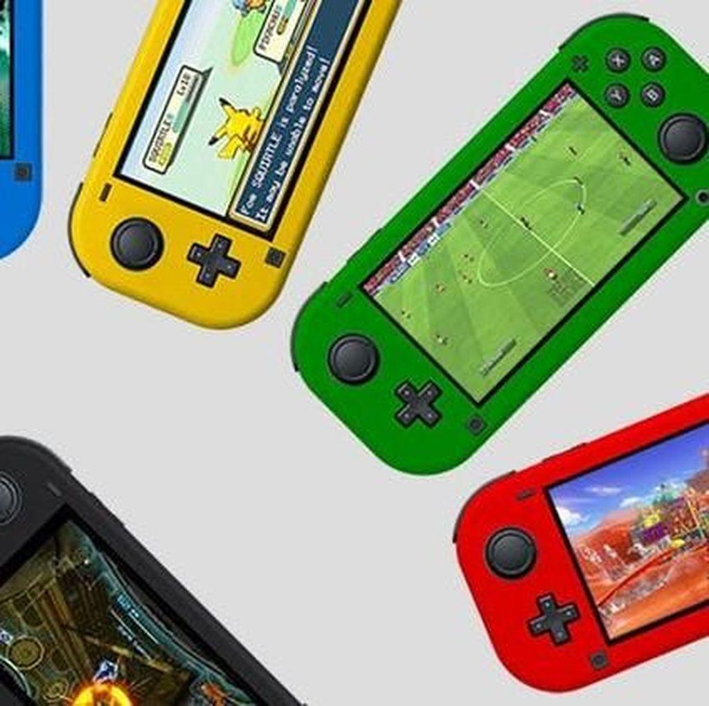 Switch Lite Bikin Saham Nintendo Melesat