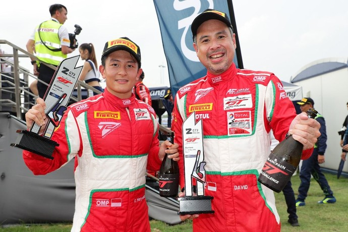 Rio Haryanto dan David Tjiptobiantoro Gondol Trofi dari Thailand