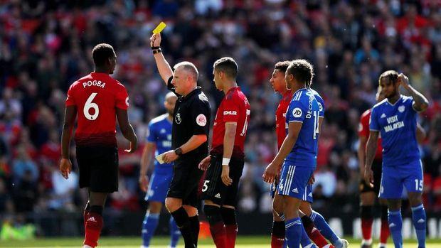 Manchester United kalah dari Cardiff City pada pertandingan terakhir di Liga Primer Inggris musim ini.